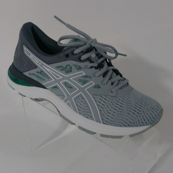 NIB asics gray running shoes women's size 9 NWT